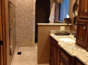 Example Of Beautiful Bathroom Remodel.