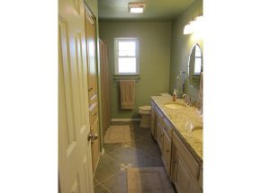 Beautiful Bathroom Remodel Completed By Edmond, OKC Remodel Experts at Weber Home Improvement.