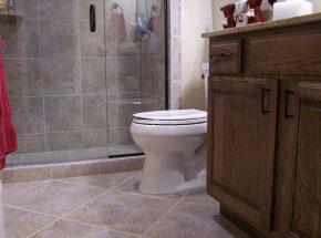 Full Bathroom Remodel.