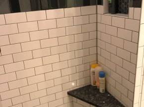 Shower Remodel With Ledge.
