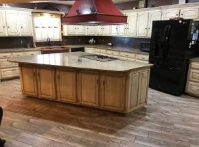 Get a great looking kitchen with Edmond Kitchen Remodeling Company Weber Home Improvement.