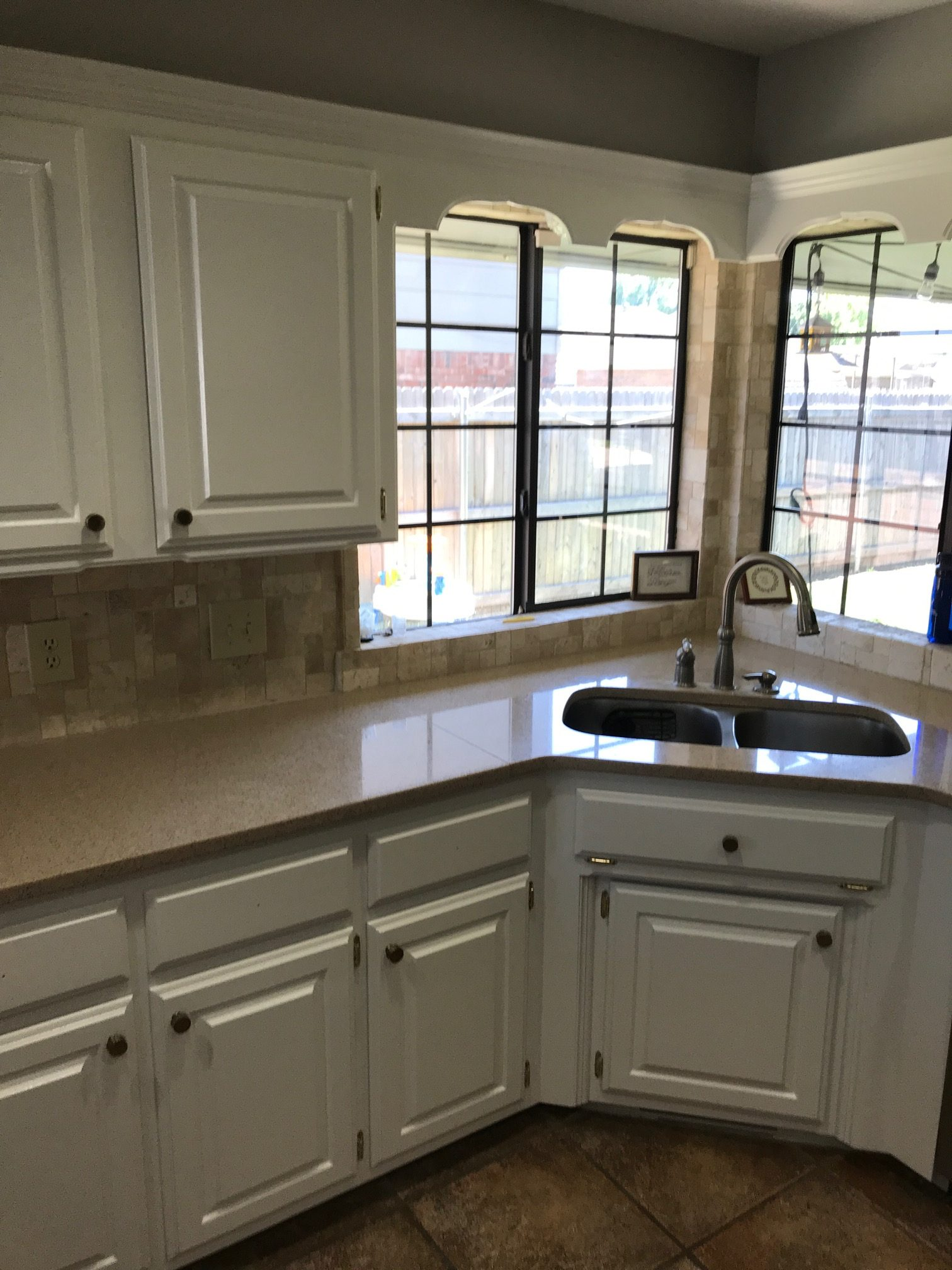 Kitchen Remodel completed by our Edmond Kitchen Remodeling Team.