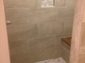 New Shower Remodel Completed by Weber Home Improvement
